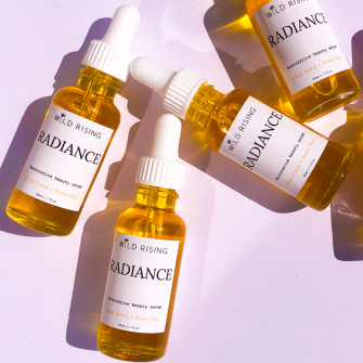 Radiance Restorative Beauty Serum with Rosehip and Chia Seed Oil