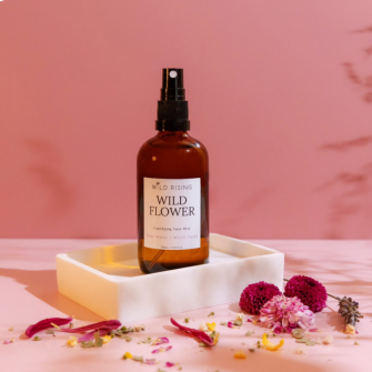 Organic and natural Rose water with witch Hazel toner