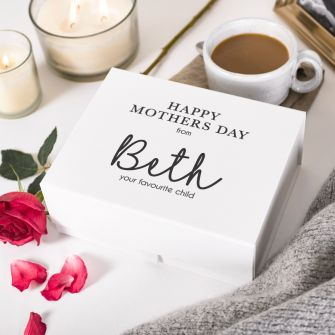 Personalised Happy Mother's Day from Your Favourite Child Deep Magnetic Gift Box