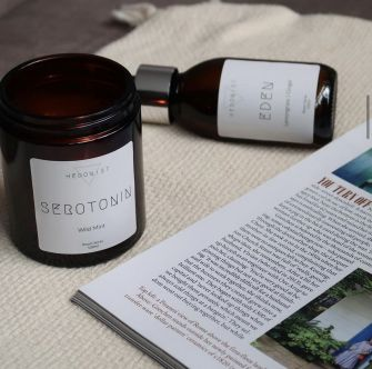 Serotonin Wild Mint Scented Candle