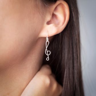 Treble-Clef-Earrings-made-from-Sterling-Silver
