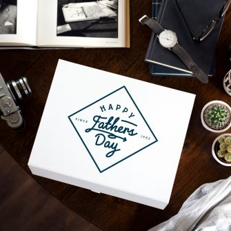 Personalised Establised Father's Day Gift Box