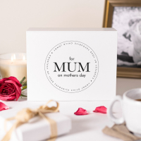 Personalised Mother's Day Courtesy of Your Favourite Child White Gift Box