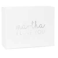 Personalised Deep I Love You Valentine's Gift Box